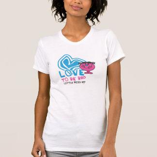 Camiseta Amor a ser coração deformado | mau