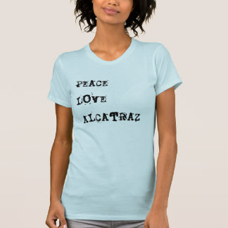 Camiseta Amor Alcatraz da paz