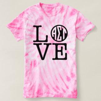 Camiseta Amor alfa da tau do Sigma
