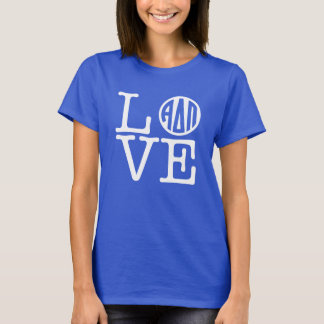Camiseta Amor alfa do Pi | do delta