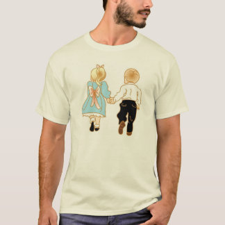 Camiseta Amor antiquado que guardara as mãos