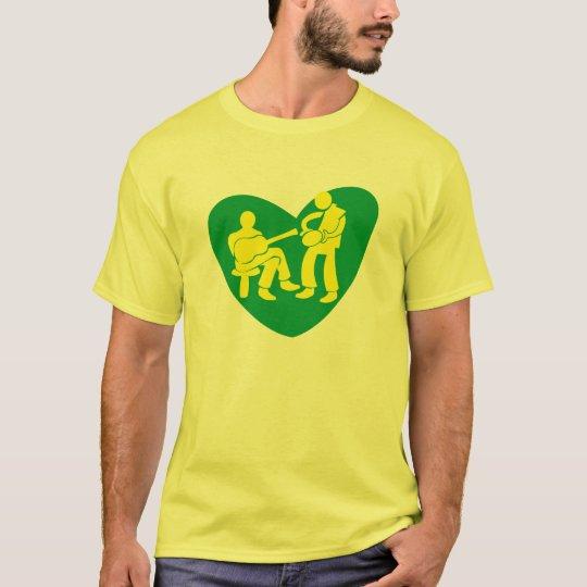 Camiseta AMOR AO SAMBA