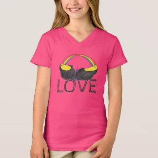 Camiseta Amor - arco-íris de Toucan