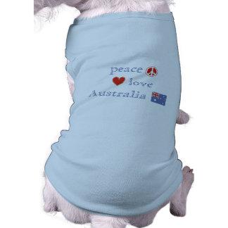 Camiseta Amor Austrália da paz