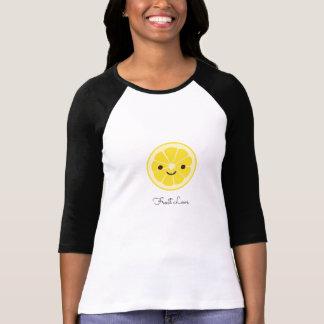 Camiseta Amor bonito da fruta do limão