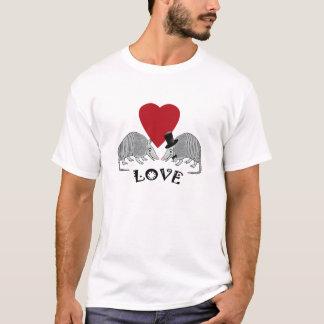 Camiseta Amor bonito do tatu