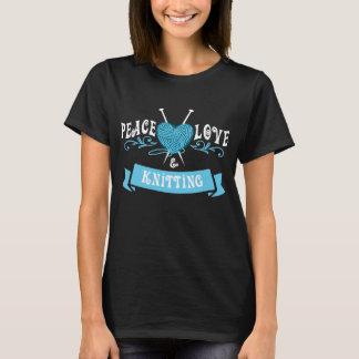 Camiseta Amor & confecção de malhas da paz
