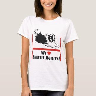 Camiseta Amor da agilidade de Sheltie