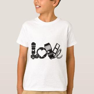 Camiseta Amor da câmera