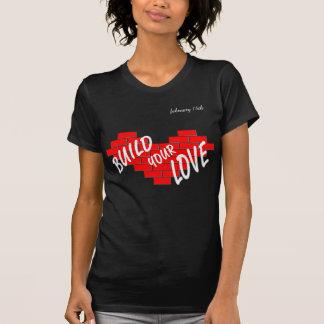 Camiseta amor da construção