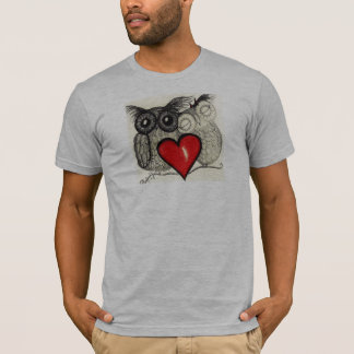 Camiseta Amor da coruja - Tshirt