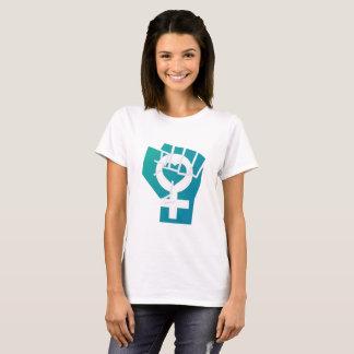 Camiseta Amor da menina da luta