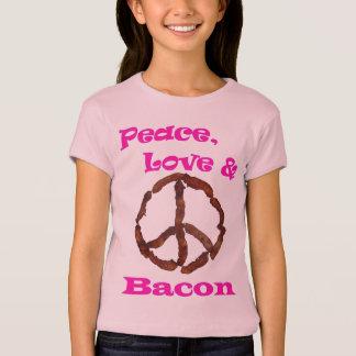 Camiseta Amor da paz e TShirt 1.jpg do bacon