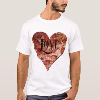 Camiseta Amor da pizza do dia dos namorados