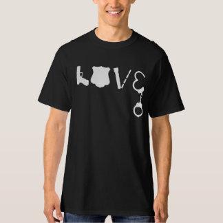 Camiseta AMOR da polícia
