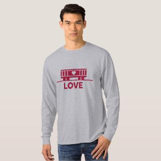 Camiseta Amor das crianças do vagão coberto