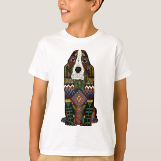 Camiseta Amor de Basset Hound