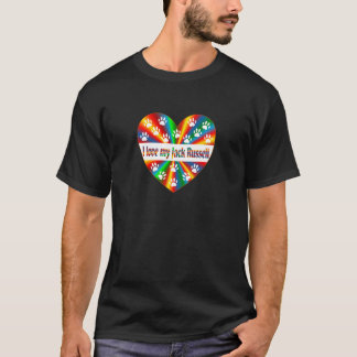 Camiseta Amor de Jack Russell