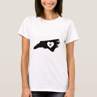 Camiseta Amor de North Carolina