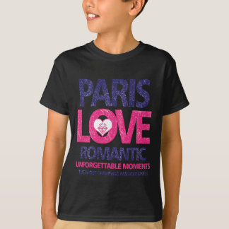 Camiseta amor de Paris