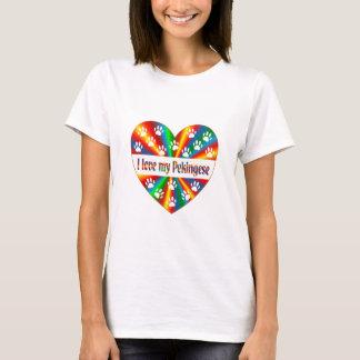 Camiseta Amor de Pekingese