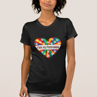 Camiseta Amor de Pomeranian