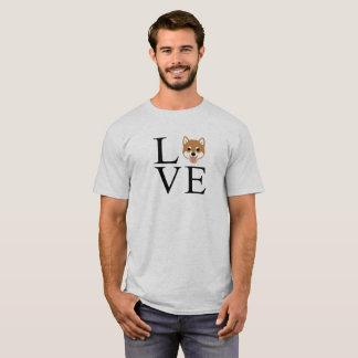 Camiseta Amor de Shiba Inu