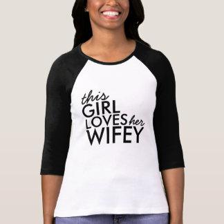 Camiseta Amor de Wifey