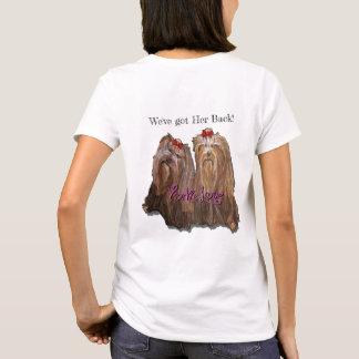 Camiseta Amor de Yorkie - o t-shirt das mulheres