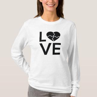 Camiseta Amor do autismo