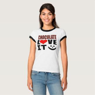 Camiseta Amor do chocolate ele