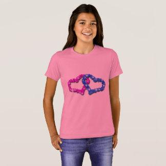 Camiseta Amor do coração da coroa