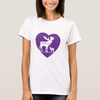 Camiseta Amor do cordeiro dos alces