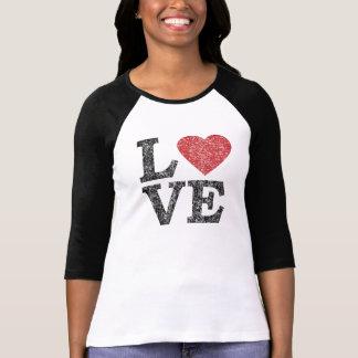 Camiseta AMOR do dia dos namorados da rua com coração