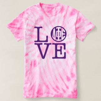 Camiseta Amor do épsilon da phi do delta