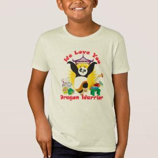 Camiseta Amor do guerreiro do dragão