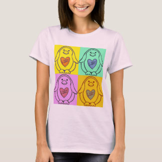 Camiseta Amor do pinguim