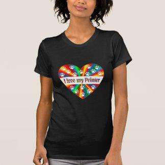 Camiseta Amor do ponteiro
