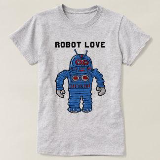 Camiseta Amor do robô
