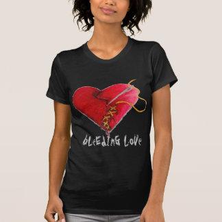 Camiseta amor do sangramento