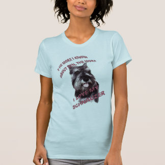 CAMISETA AMOR DO SCHNAUZER
