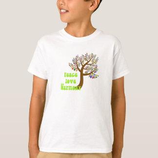 Camiseta Amor e harmonia da paz