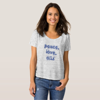 Camiseta Amor e óleos da paz