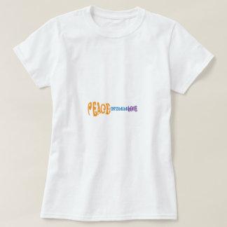 Camiseta Amor e Ukulele da paz