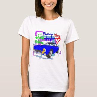 Camiseta amor F250Lusso da paixão dos pistões