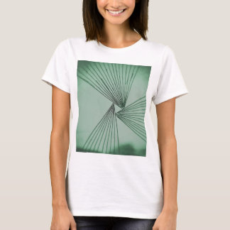 Camiseta Amor focalizado explícito verde
