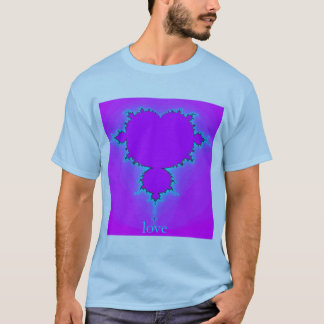 Camiseta Amor - Fractal Cartioids