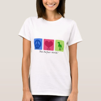 Camiseta Amor GSP da paz