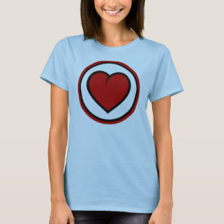 Camiseta Amor HeartTrans de República do Tchad