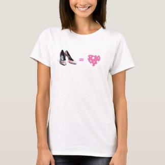 Camiseta Amor igual dos calçados
